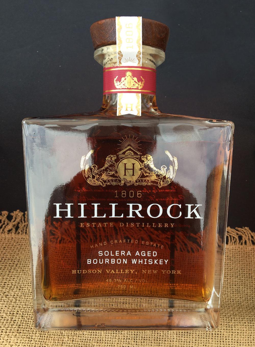 ニューヨーク産ウィスキー HILLROCK Whiskey
